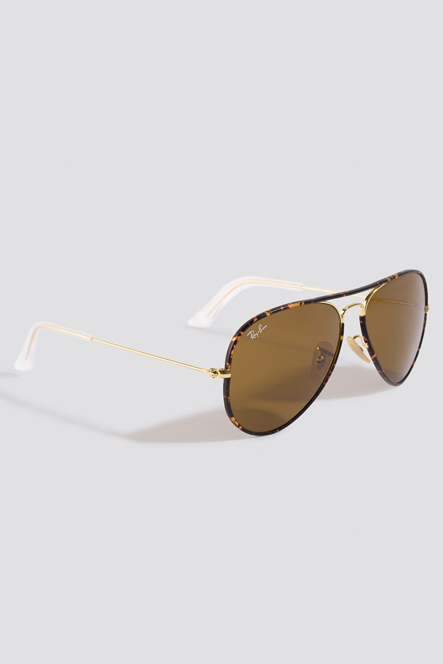 Aviator Full Color Gold/Green