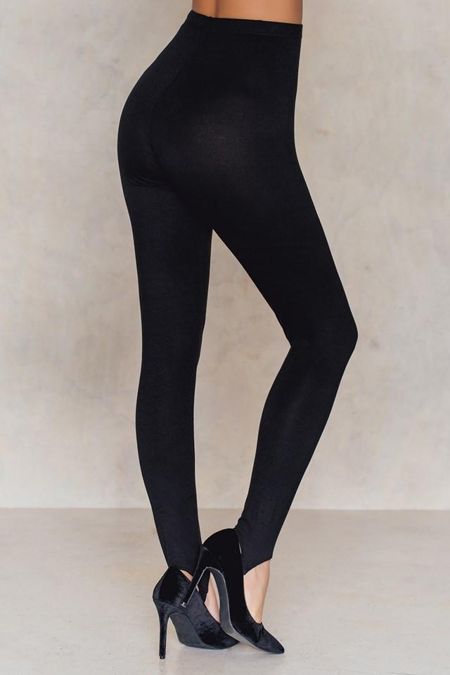 Basic Babe Stirrup Leggings NA-KD.COM