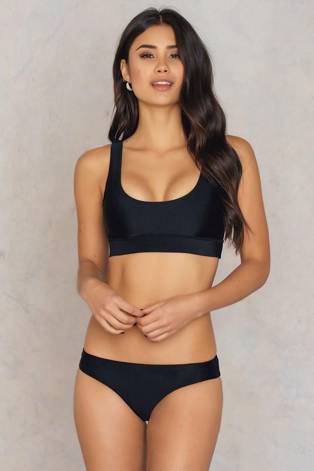 Sporty Bikini Pantie Black