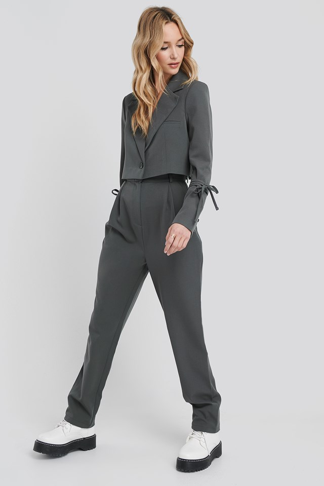 Relaxed Fit Tailored Pants Magnet