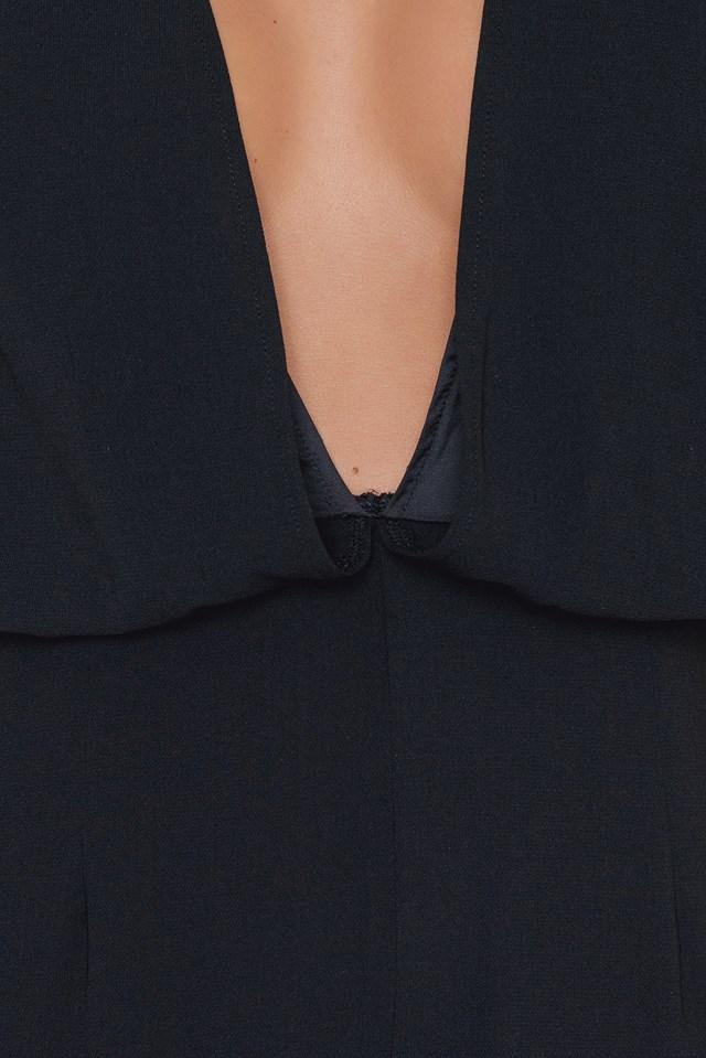 Full Pant Jumpsuit Black