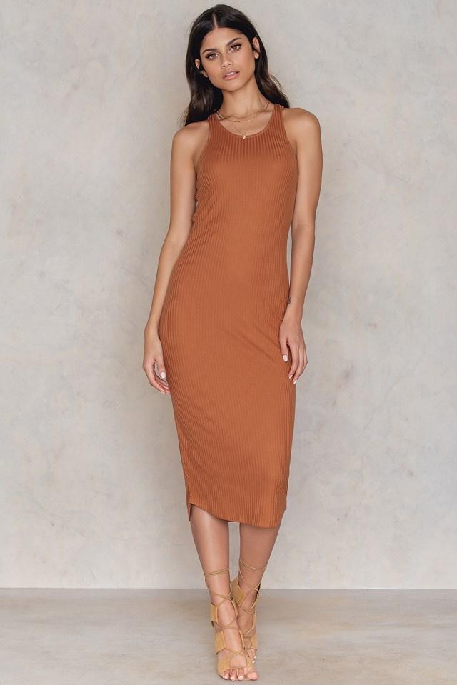 Mollie dress Terracotta