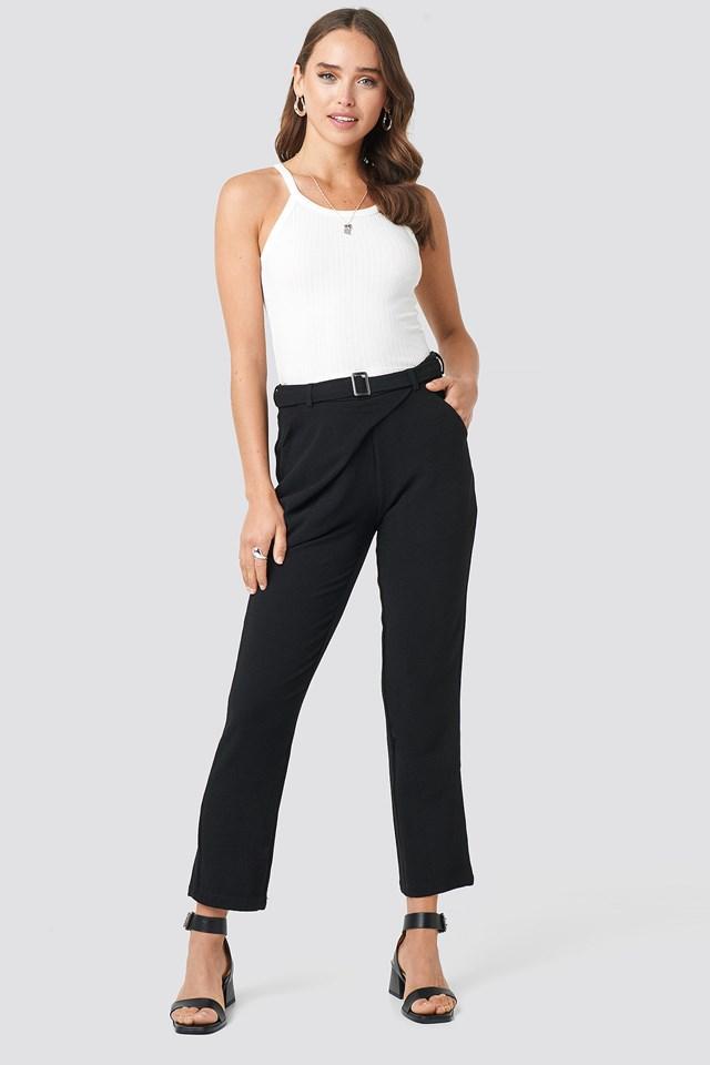 Kopertowe spodnie Delia NA-KD.COM