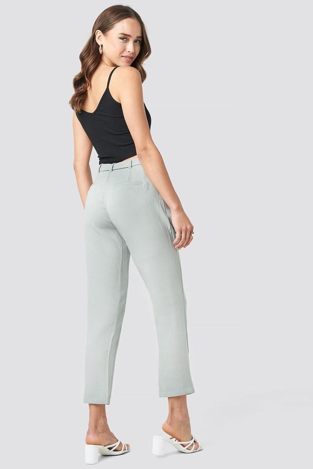 Delia Wrap Pant Grey