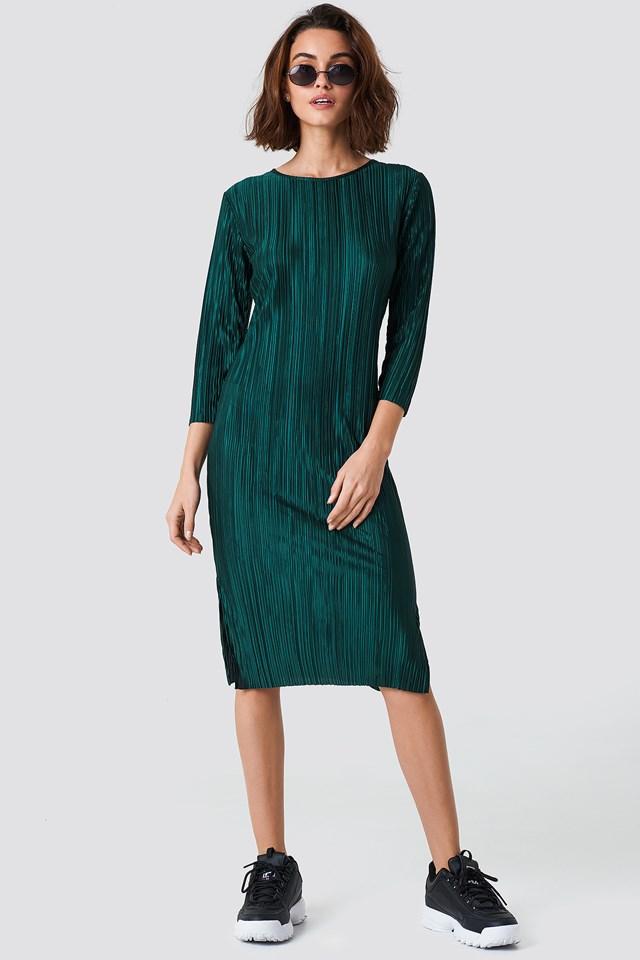 Katrin Dress Dark Green