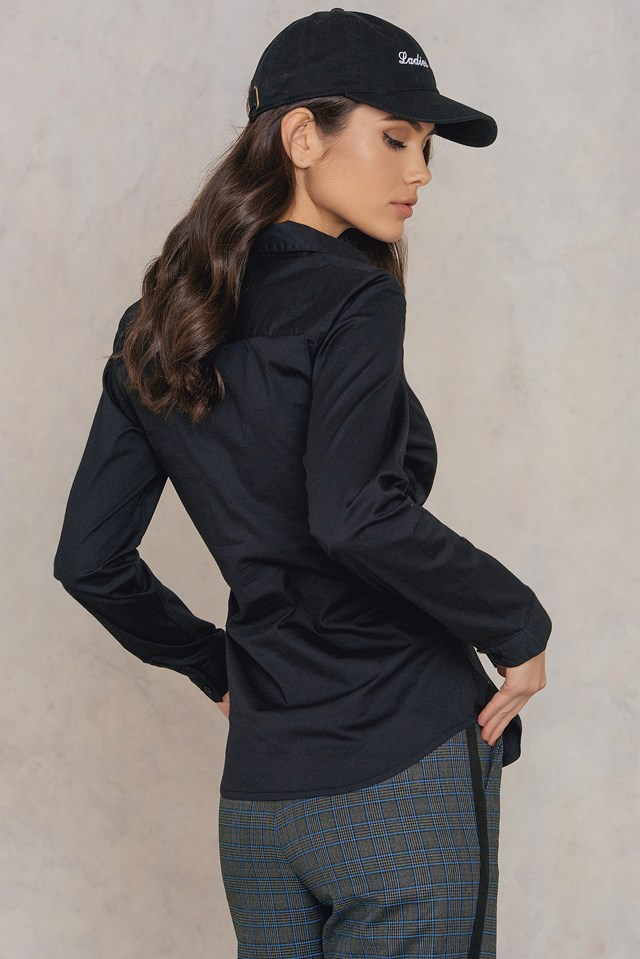 Milly Waist Shirt Black