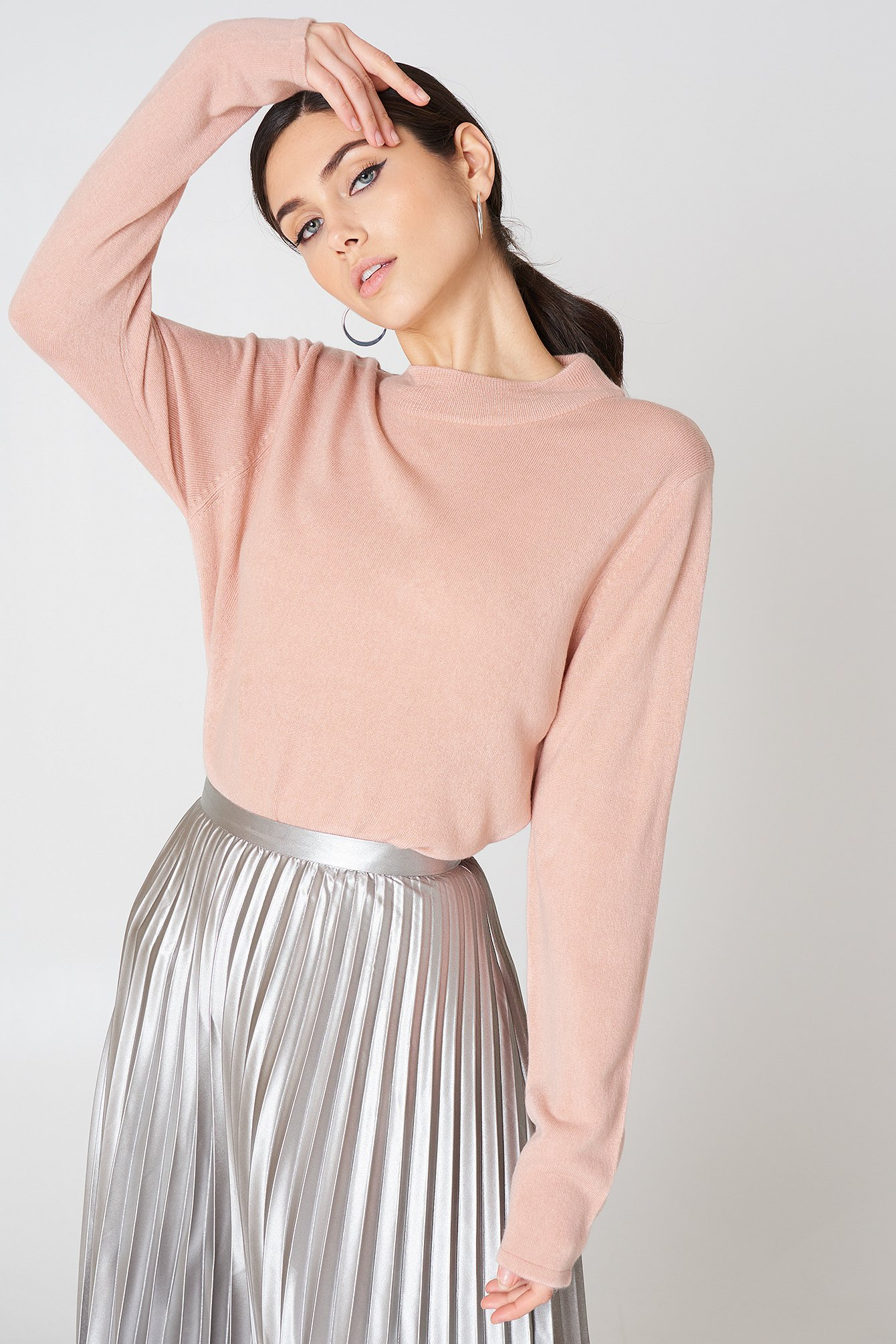 CAILYN TURTLE SWEAT - PINK