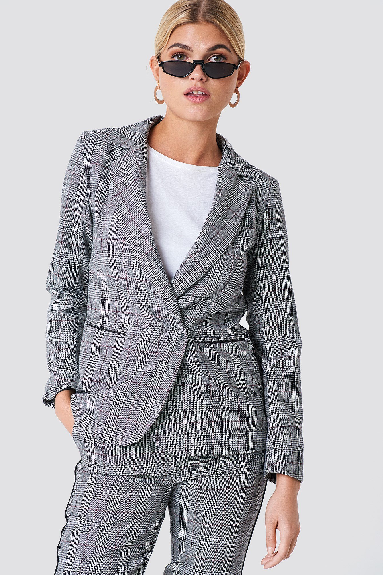 Checked Blazer NA-KD.COM