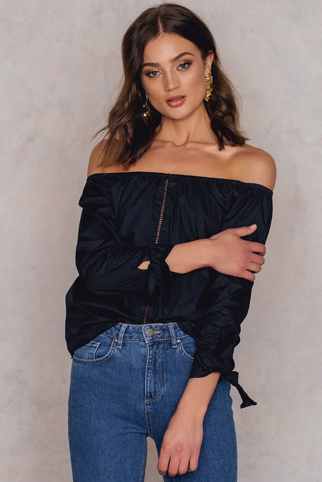 Dana shirt Black