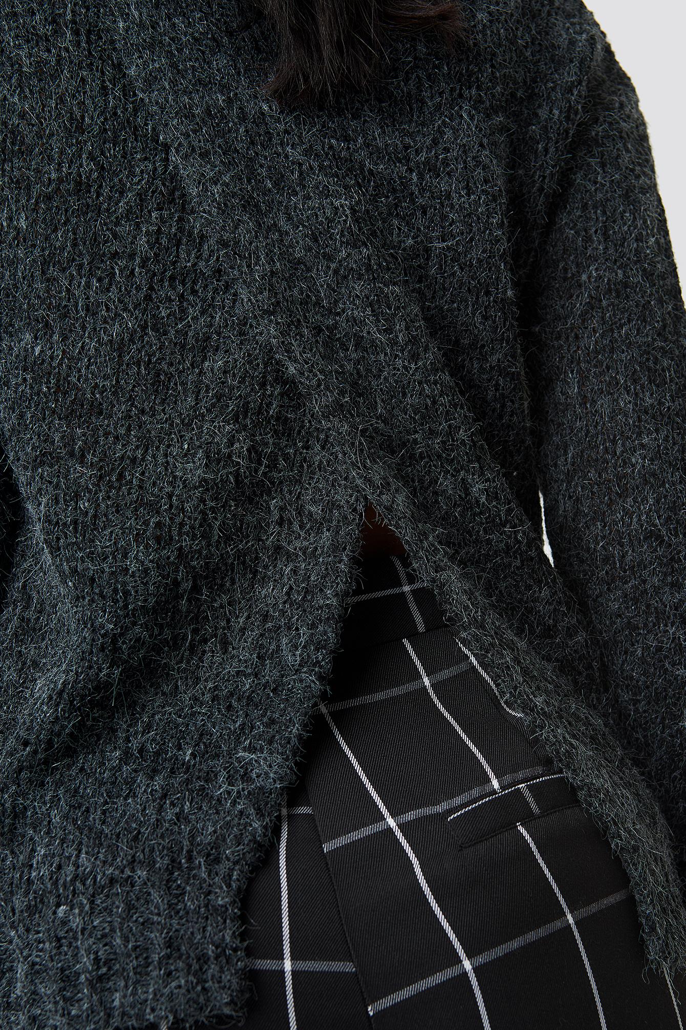Emina V-neck Knit NA-KD.COM