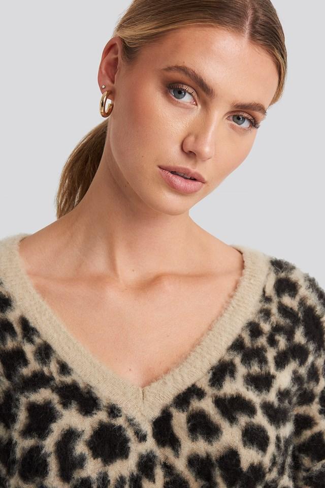 Sandy Jacquard Knit Leo