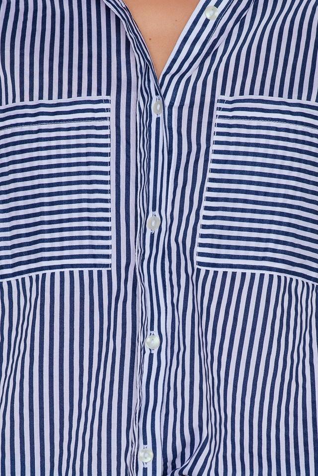 Ingrid Stripe Shirt Blue/White