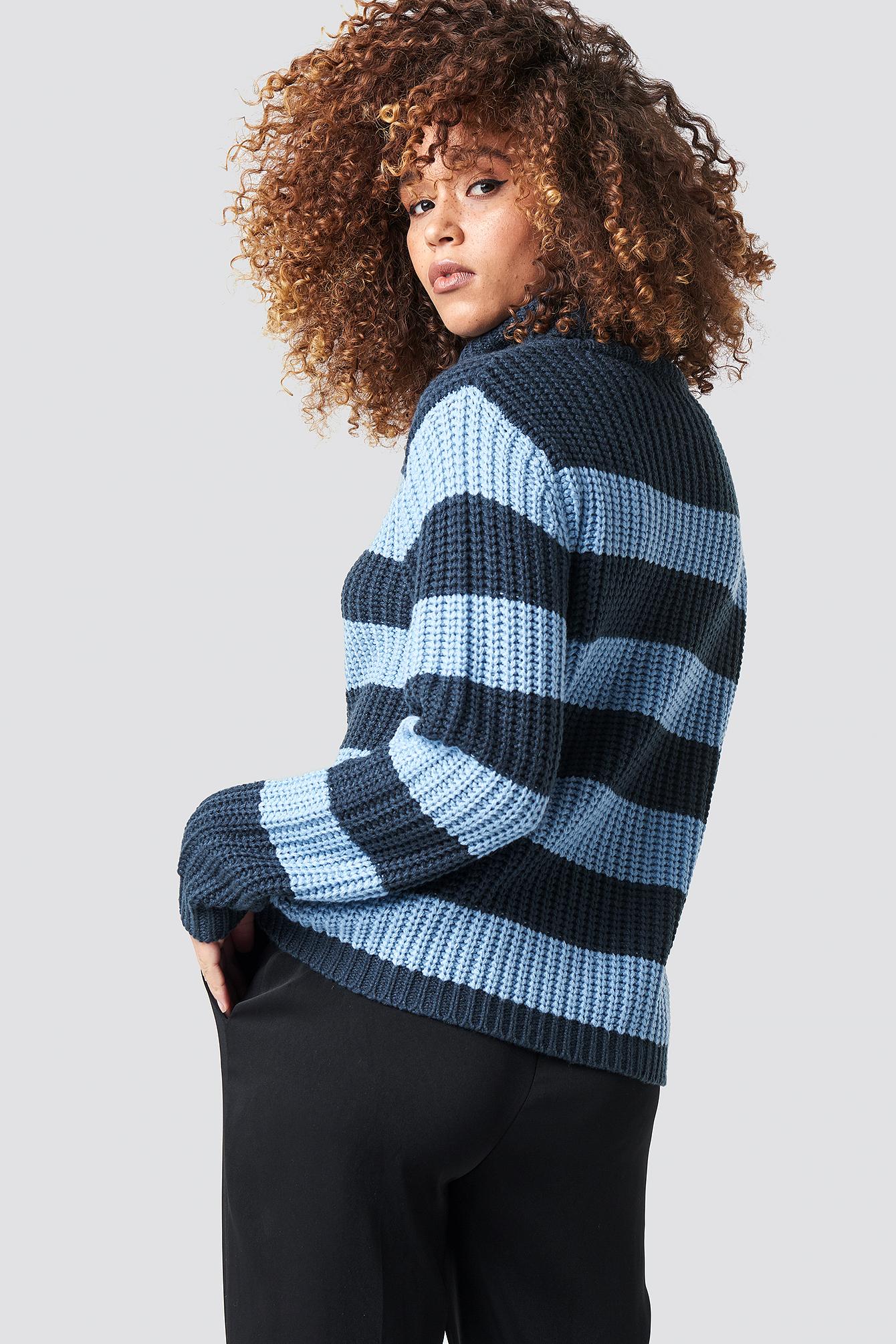 Tina Stripe Knit NA-KD.COM