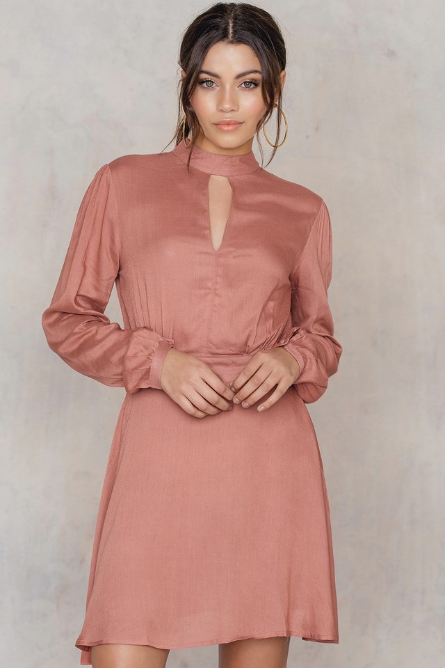 Cordelia dress Canyon Pink