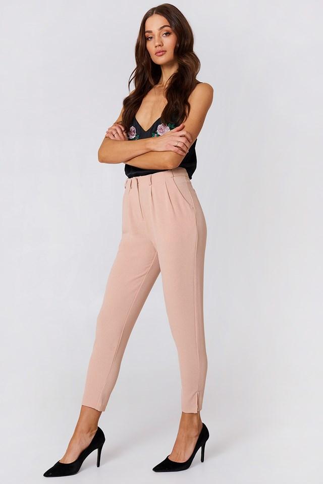 Spodnie Damian Pastel Pink