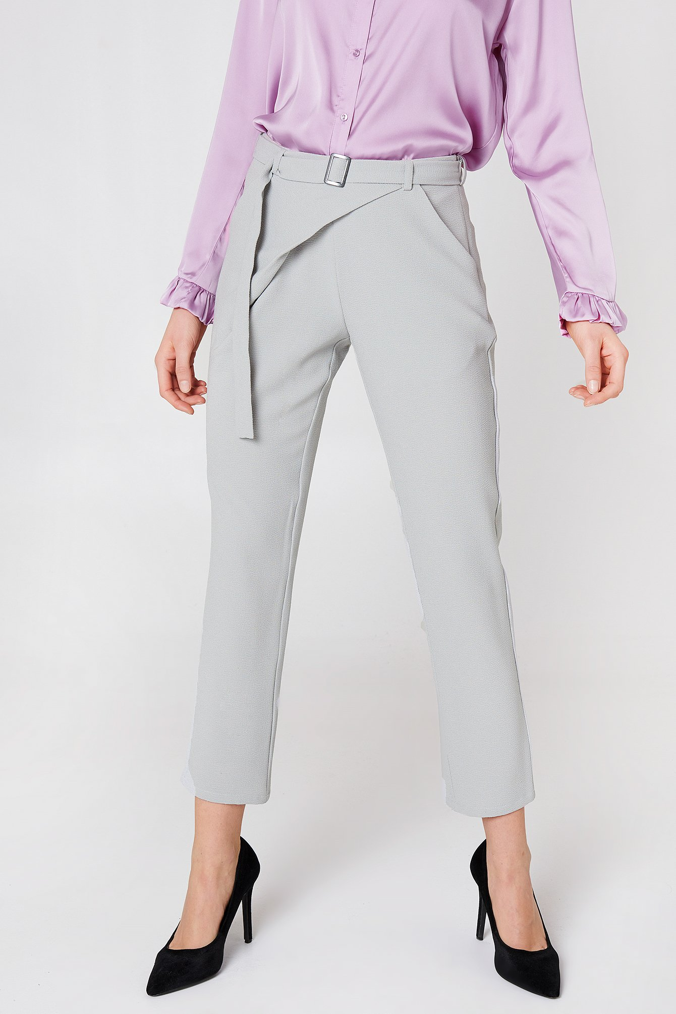 Delia Wrap Pant NA-KD.COM
