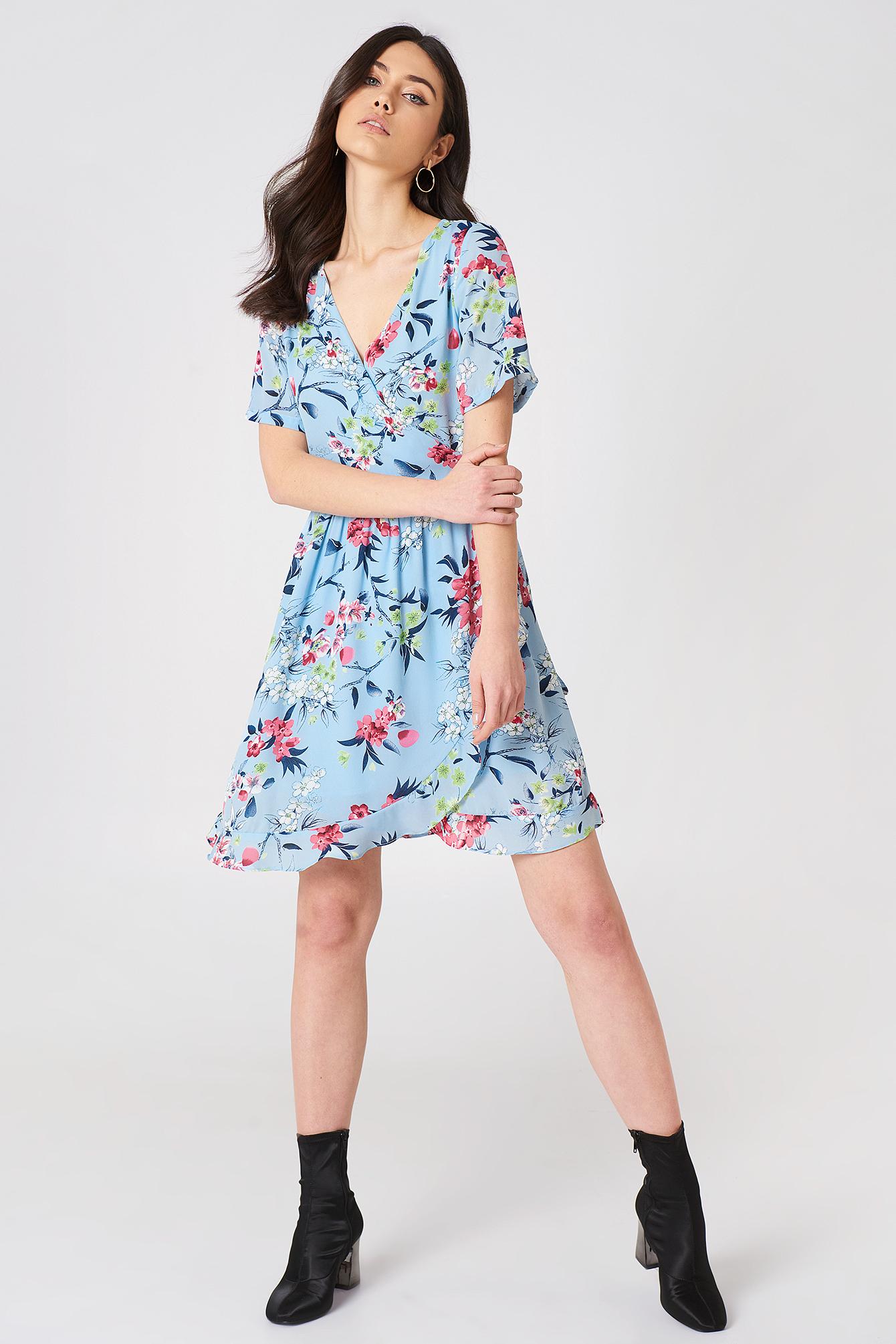 Eleonor Wrap Dress NA-KD.COM