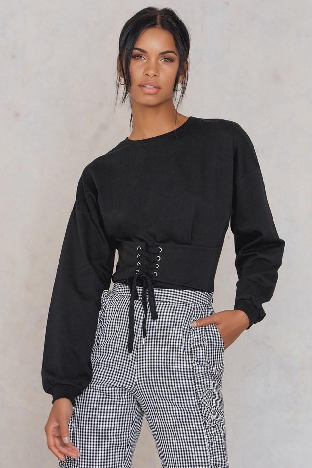Elina Waist Sweater NA-KD.COM