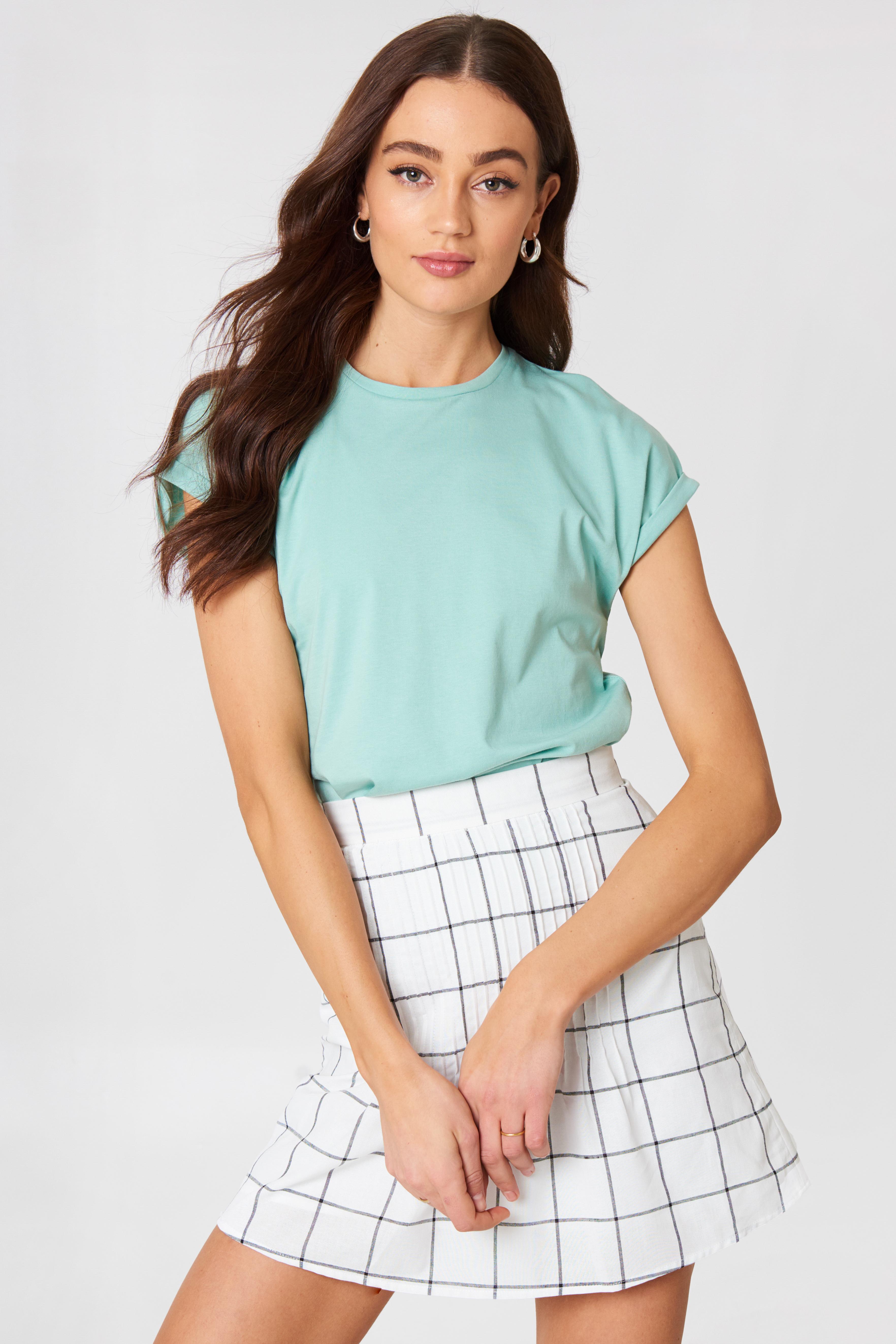 Ella Basic Tee Color NA-KD.COM