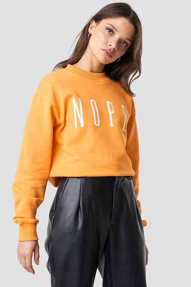 Ellen Sweatshirt Orange