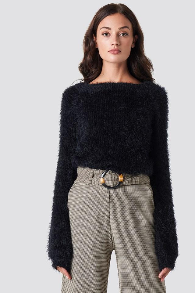 Feather Knit Rut&Circle