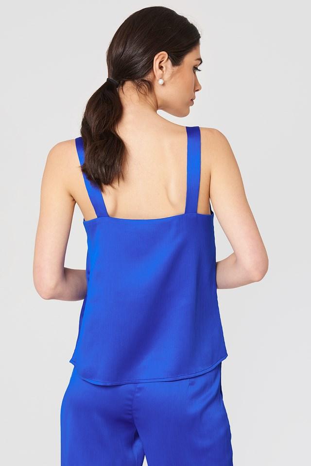 Top na ramiączkach Ginny Cobalt Blue