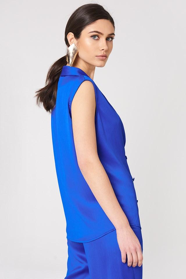 Ginny Vest Cobalt Blue