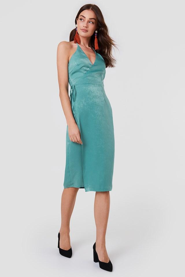 Haley Wrap Dress NA-KD.COM