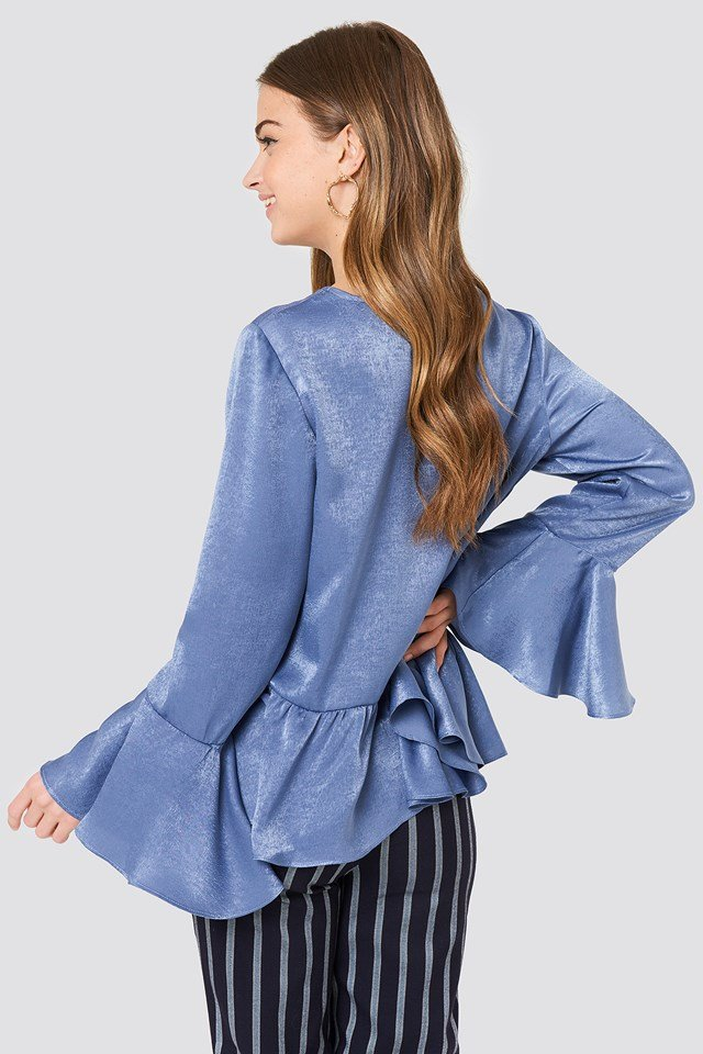 Hanna Frill Top Blue