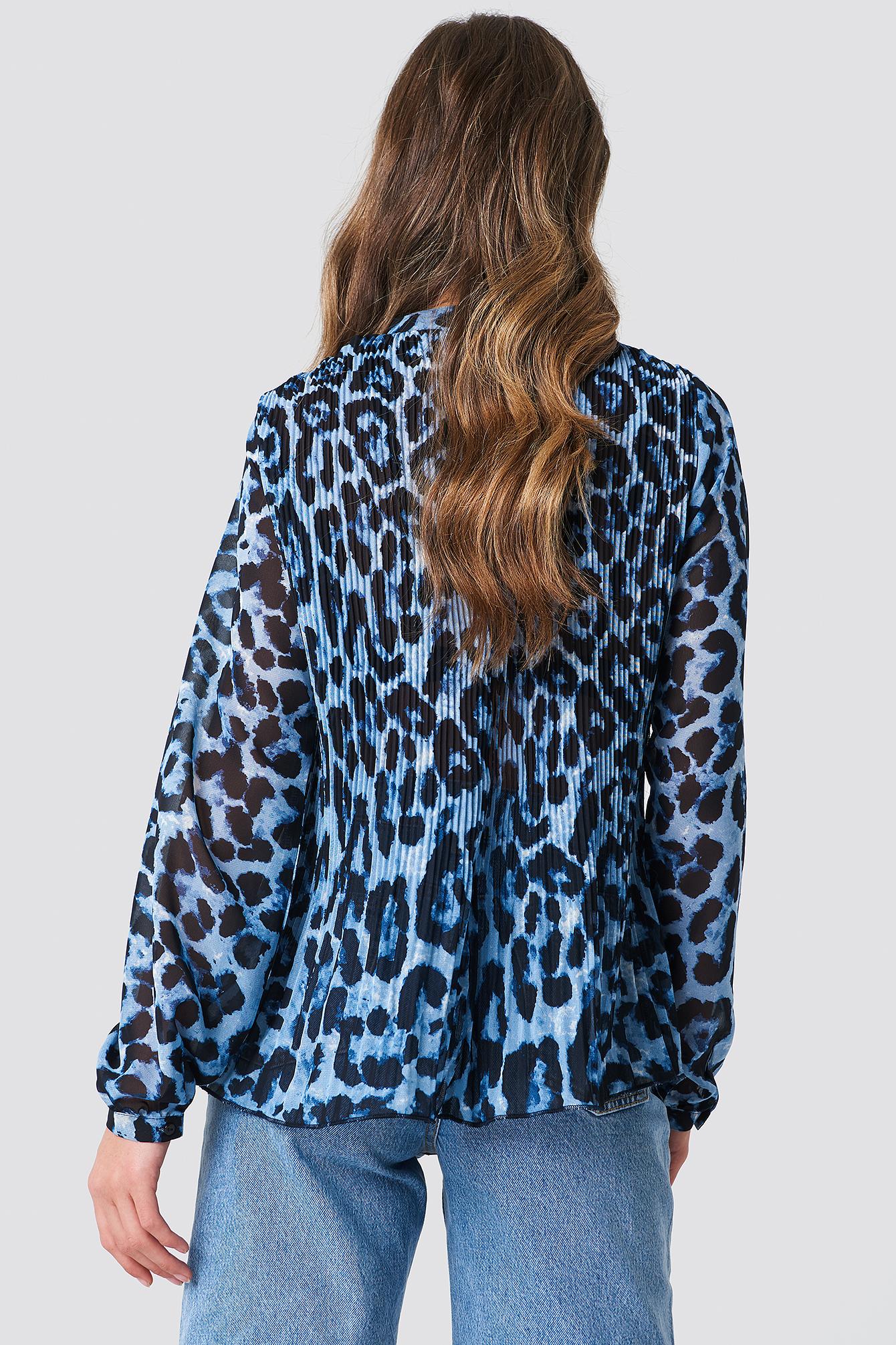 Plisowana bluzka NA-KD.COM