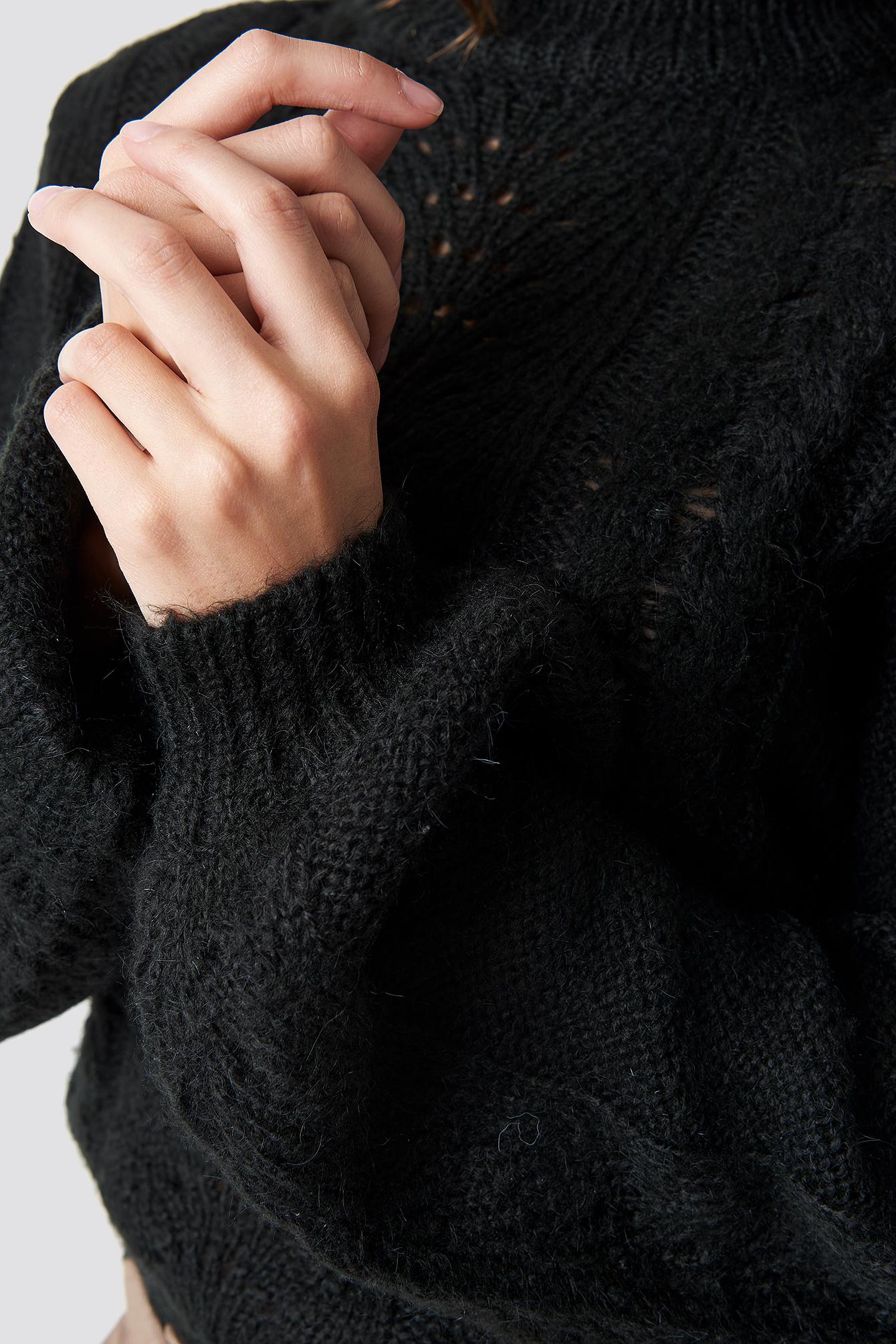 Hole Knit Pullover NA-KD.COM