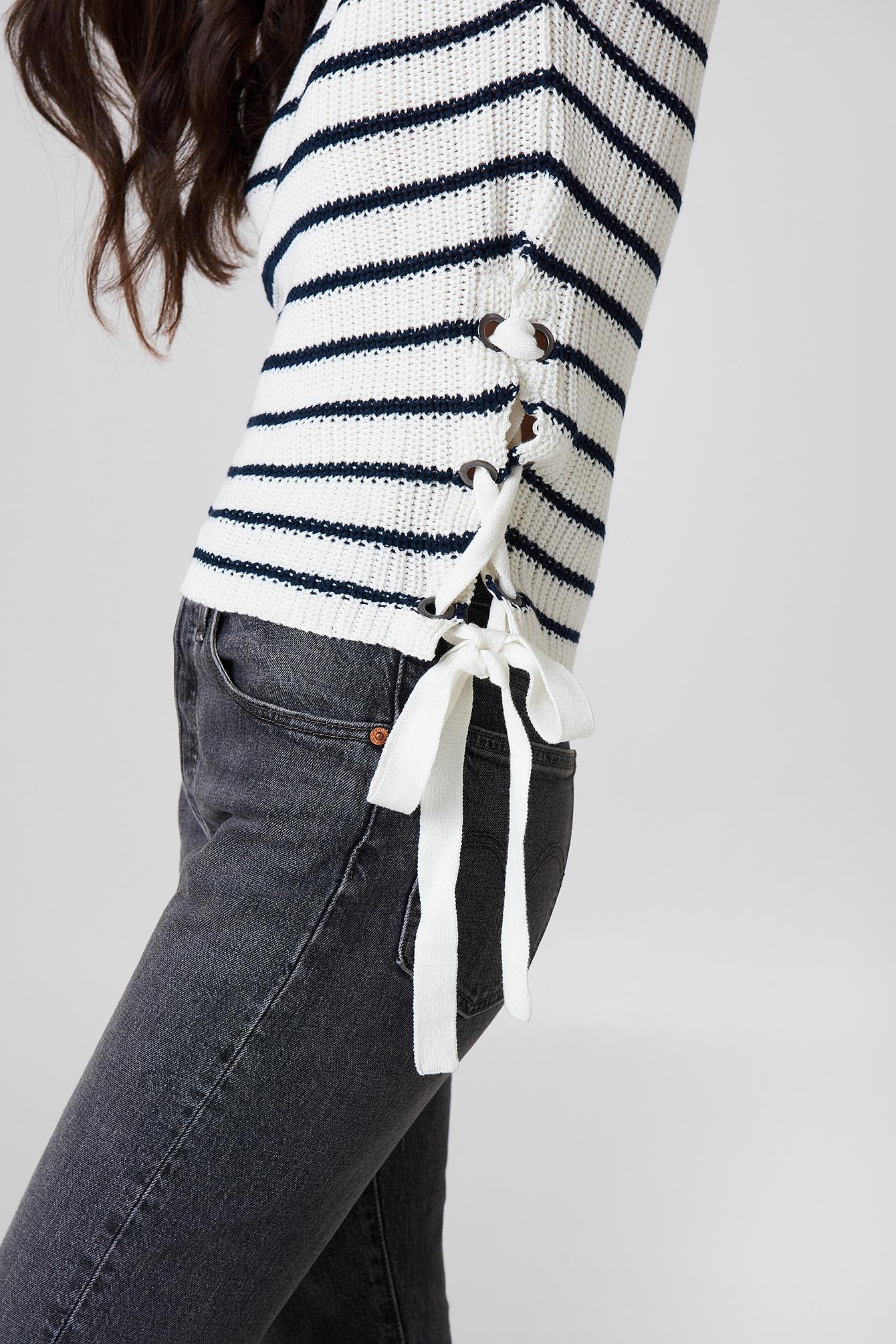 Idun Lace Up Knit NA-KD.COM