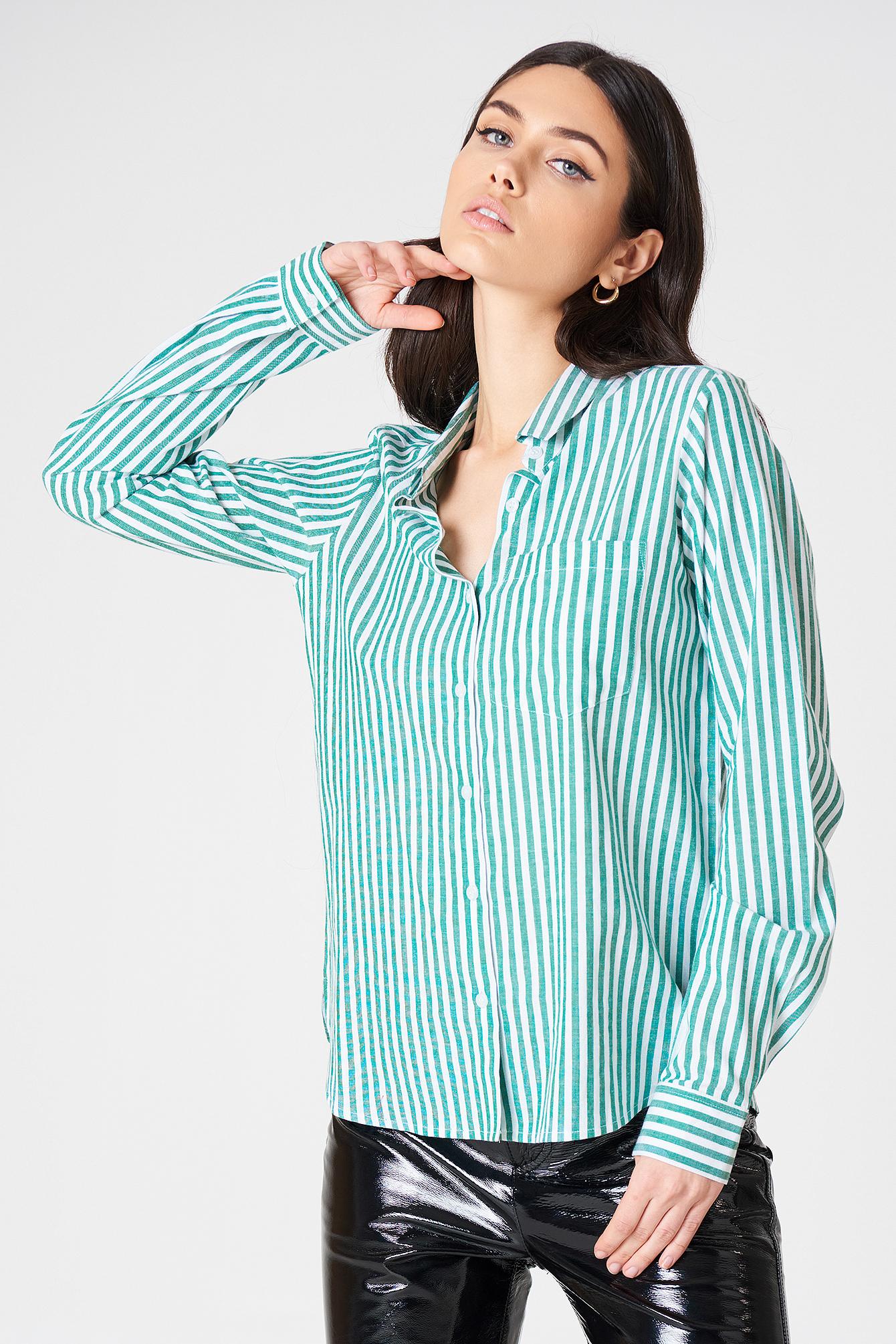 Ina Striped Shirt NA-KD.COM