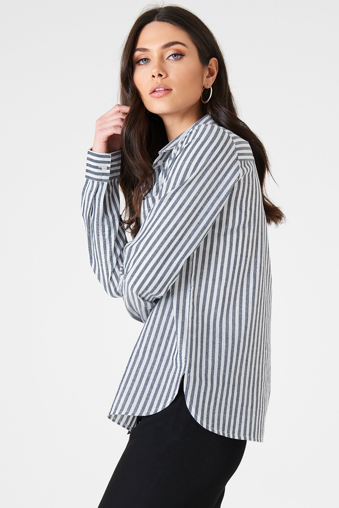 Ina Striped Shirt