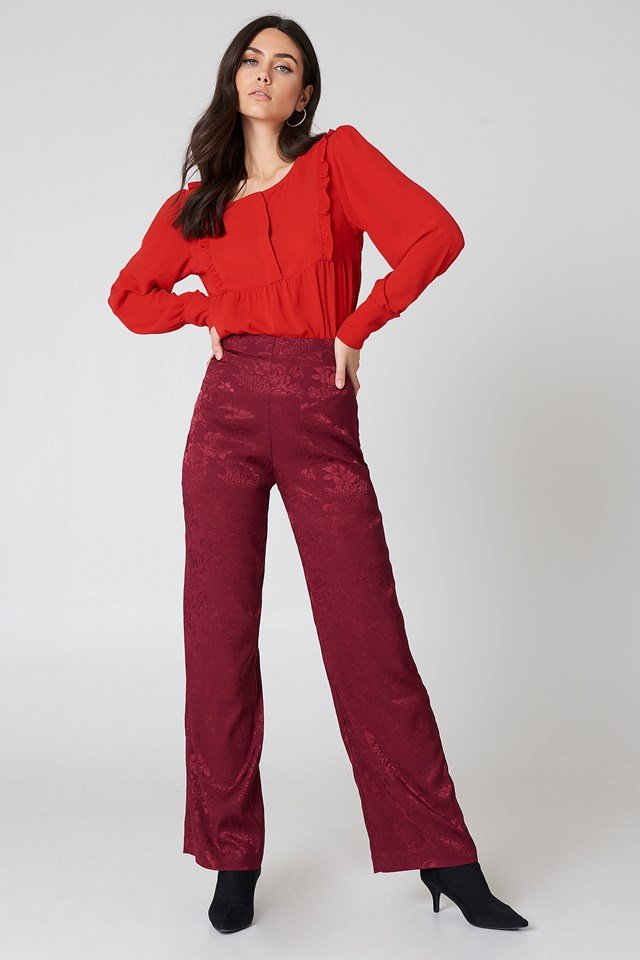 Isabelle Blouse Red
