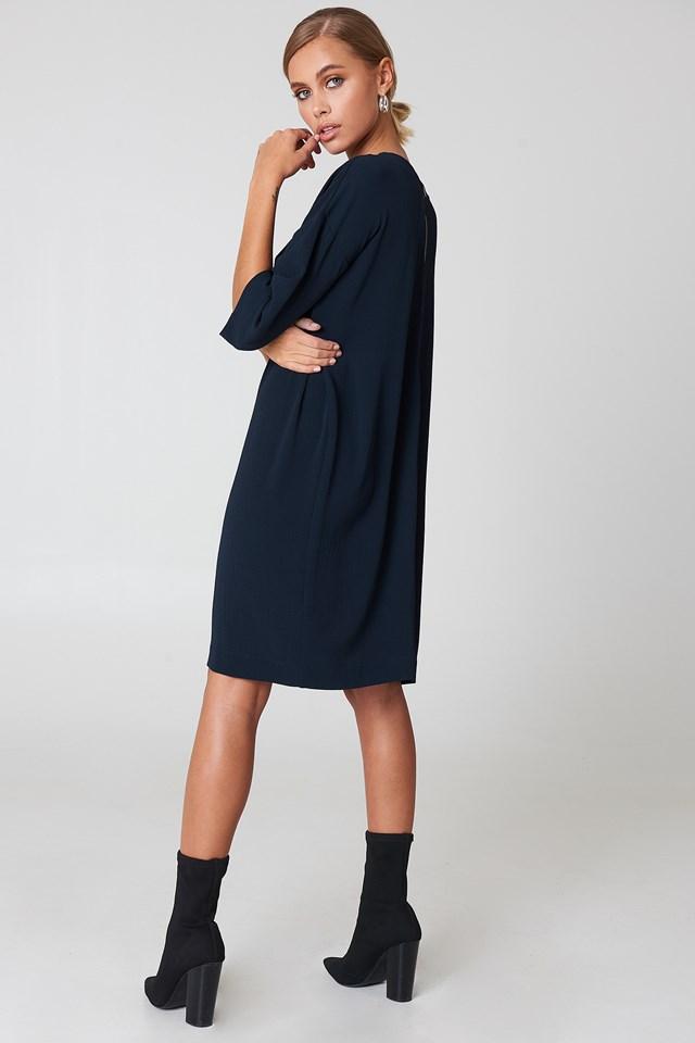 Isabelle Dress DK Navy