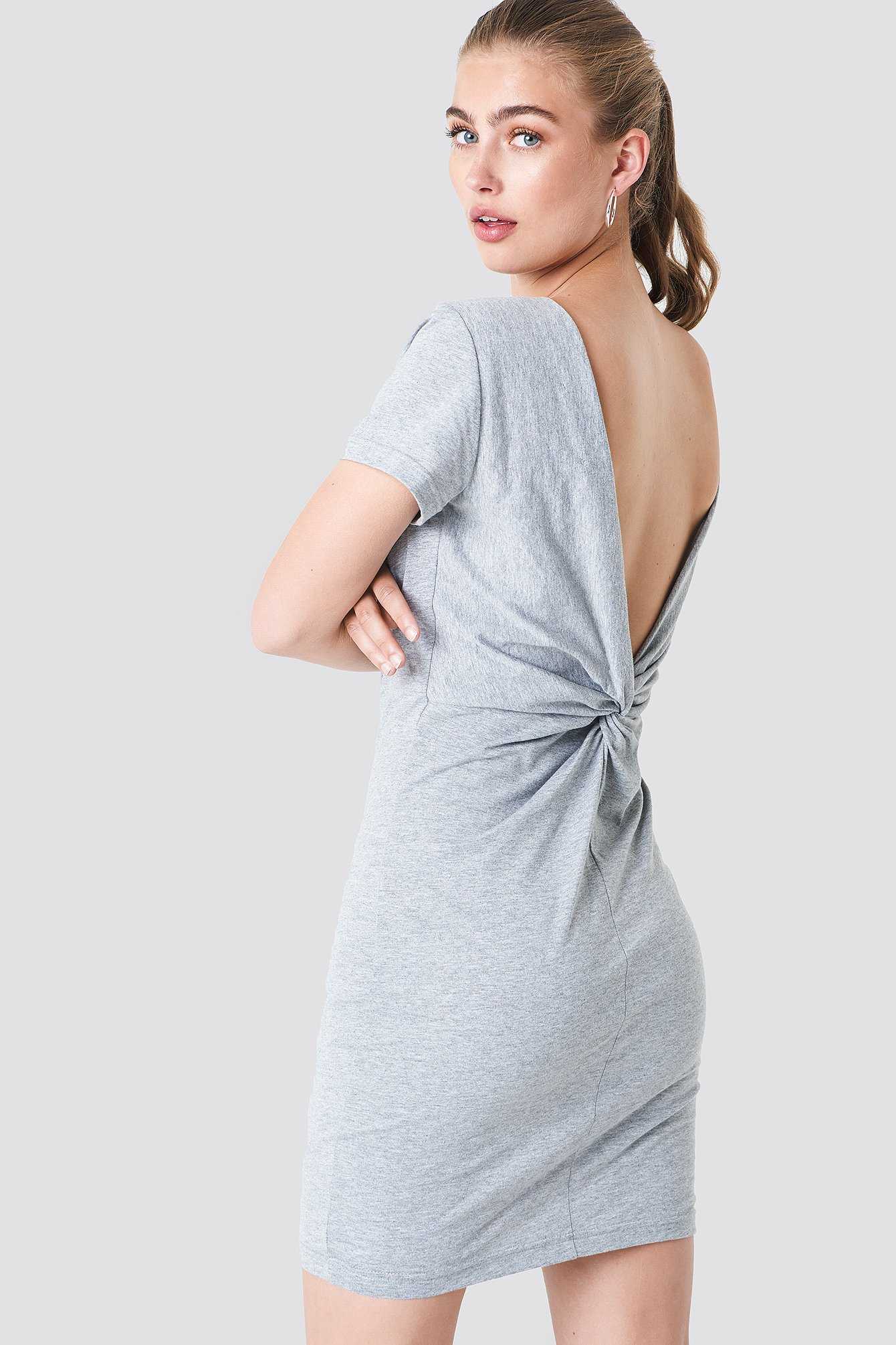 Knot Back Dress NA-KD.COM