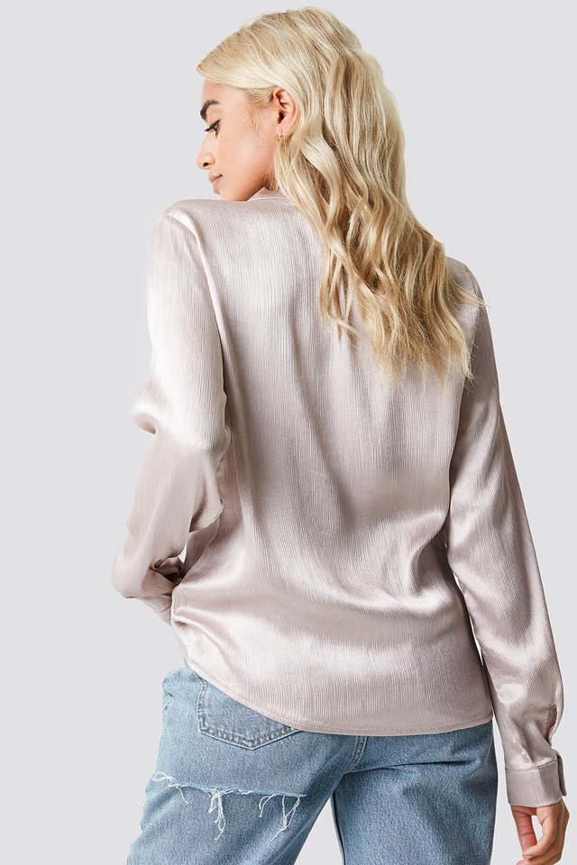 Knot Blouse Champagne