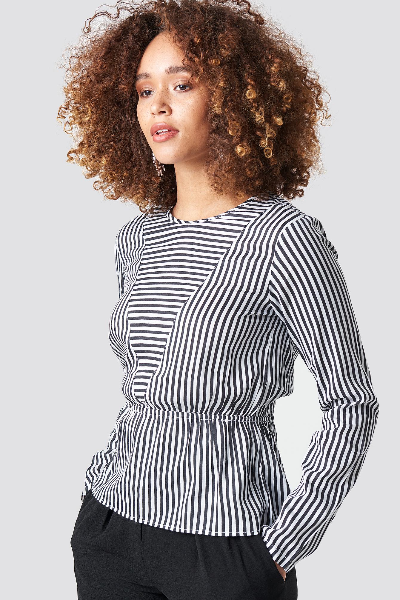 Layla Stripe Blouse  NA-KD.COM