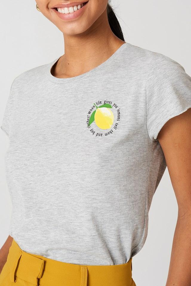 Lemon Tee Grey
