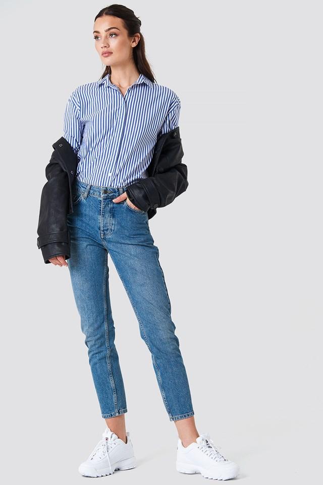 Louisa High Waist Jeans Rut&Circle