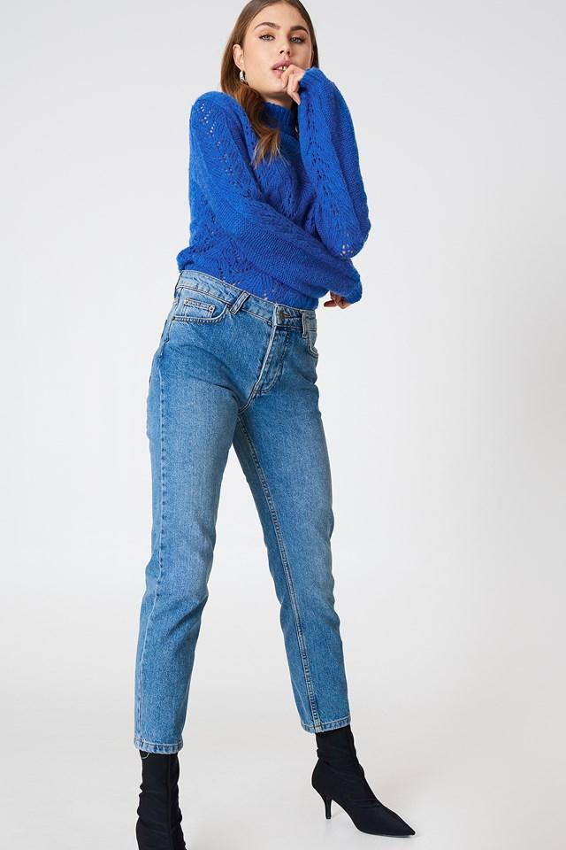 Louisa Vintage Jeans md blue wash