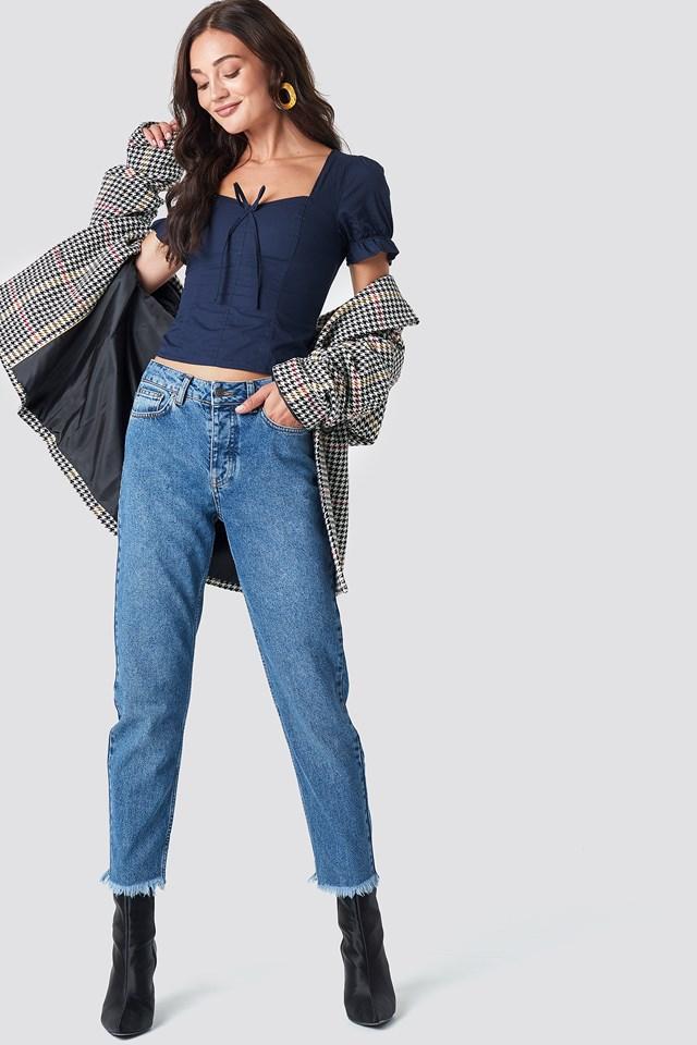Proste jeansy Louisa Rut&Circle