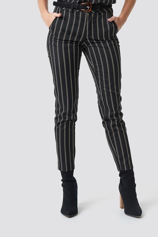 Malin Stripe Pant NA-KD.COM