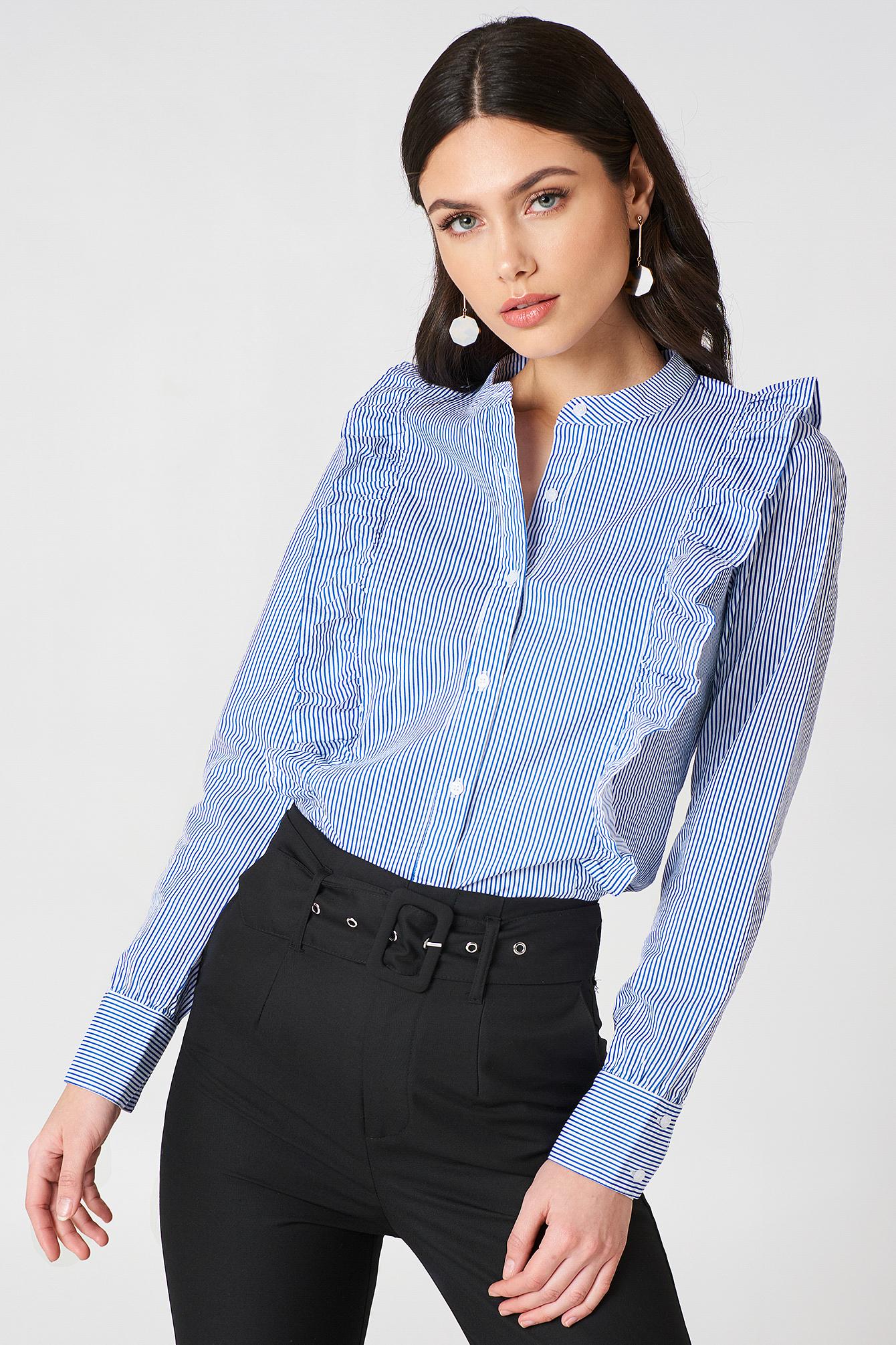 Koszula w paski Malina NA-KD.COM