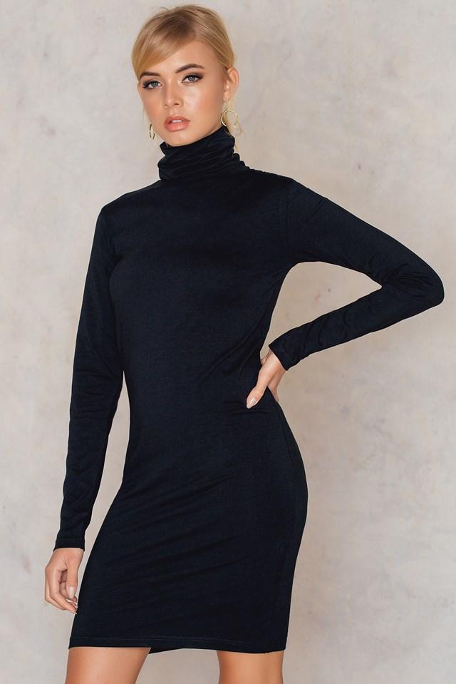 Maria long polo Black