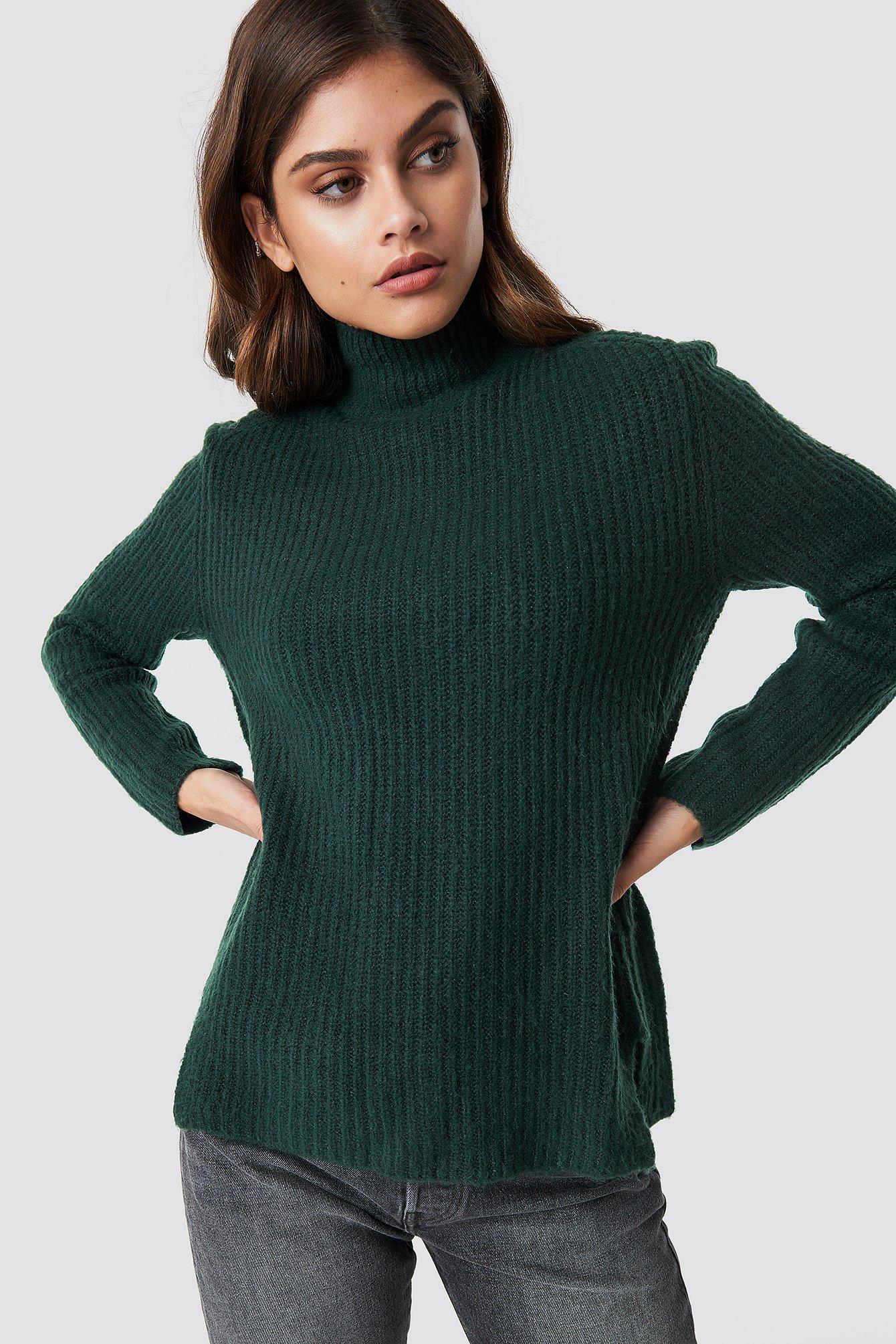 rut&circle -  Marielle knit - Green