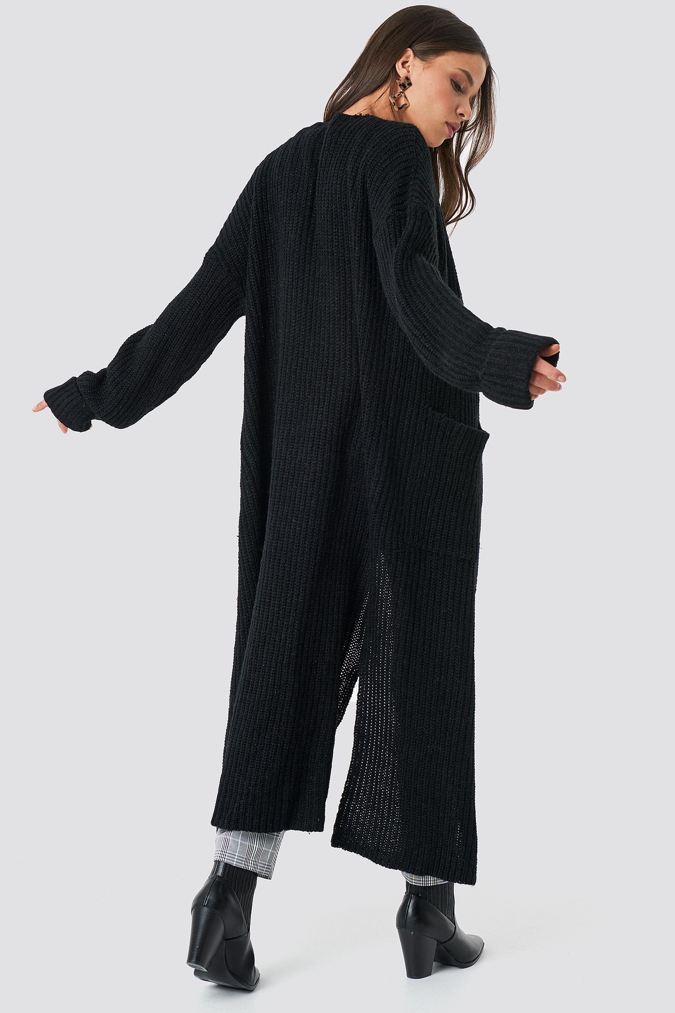 Maxi Long Cardigan NA-KD.COM