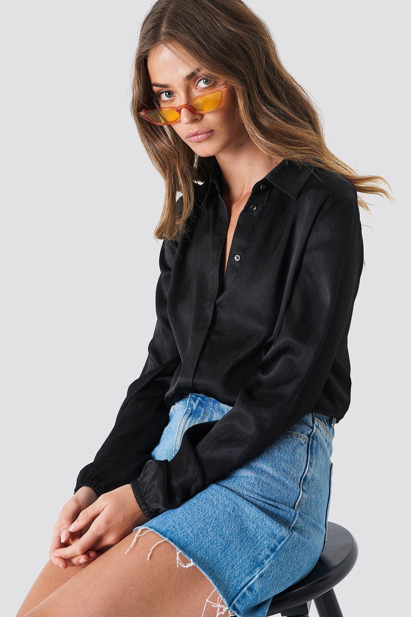 Rut & Circle Mella Shirt - Black