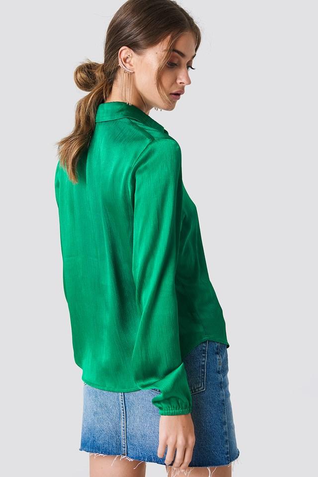 Mella Shirt Preppy Green
